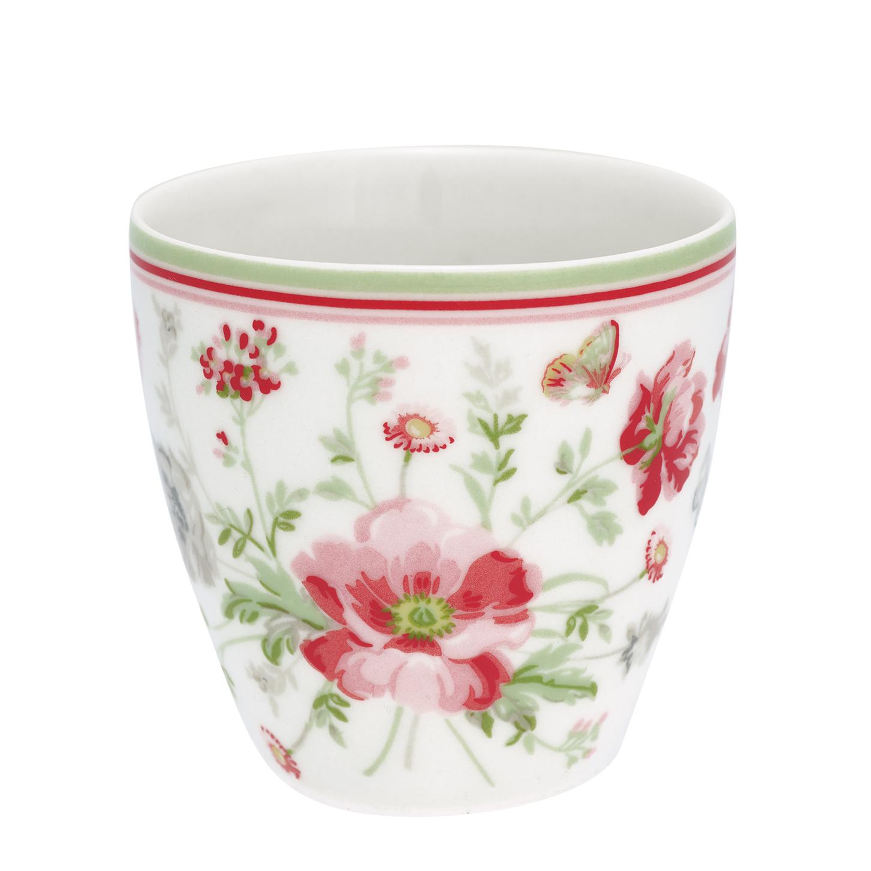 Espressotasse | Mini-Latte Cup - Meadow white - Greengate