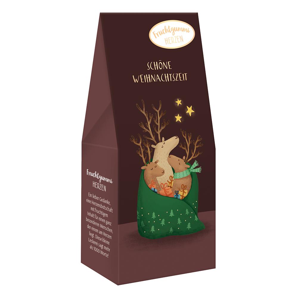 Fruchtgummi Herzen - Schöne Weihnachtszeit - Grafik Werkstatt (Xmas)