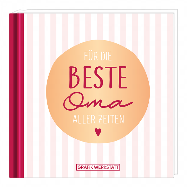 Mini-Geschenkbuch - Für die beste Oma ... - Grafik Werkstatt