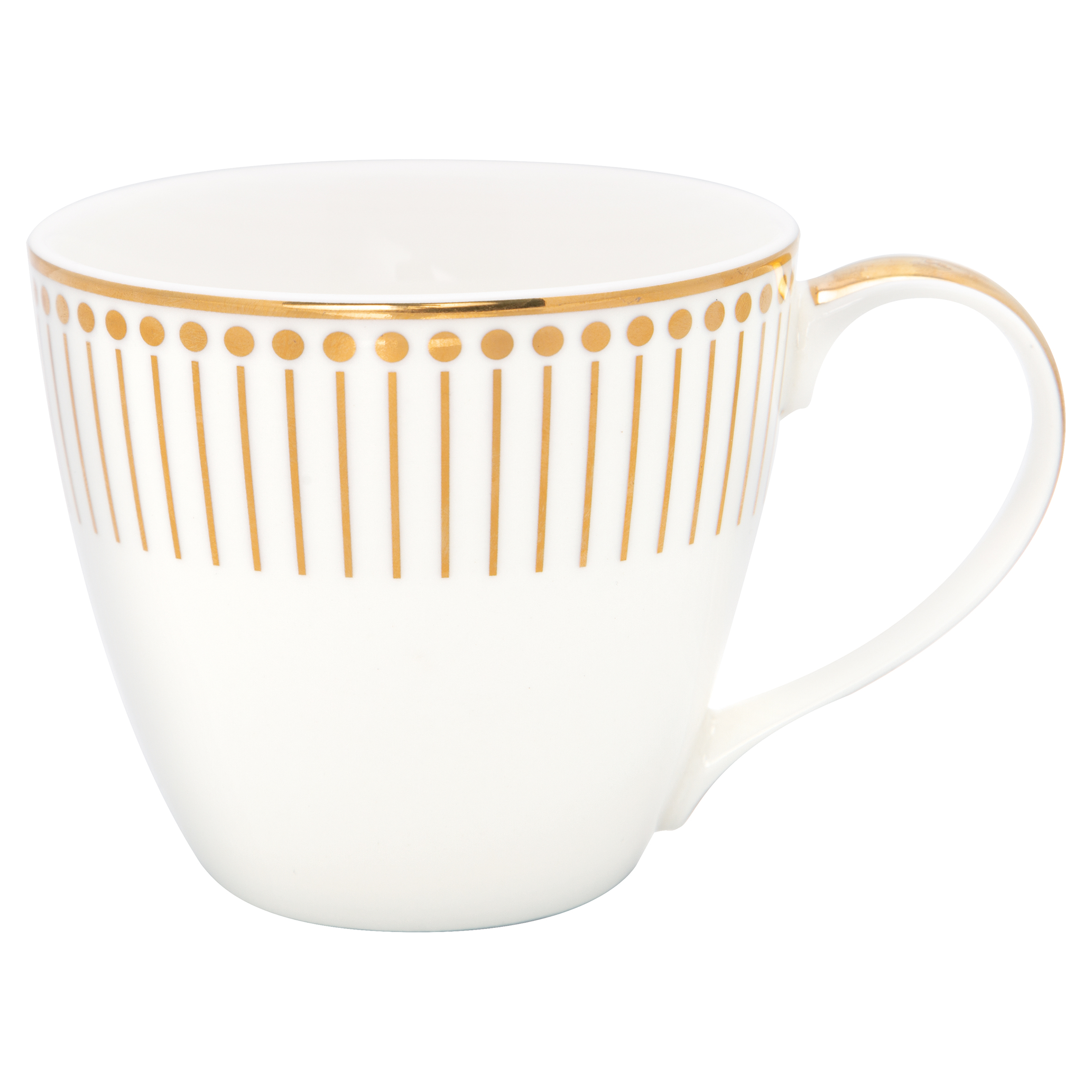 Becher mit Henkel - Dawn gold - Greengate