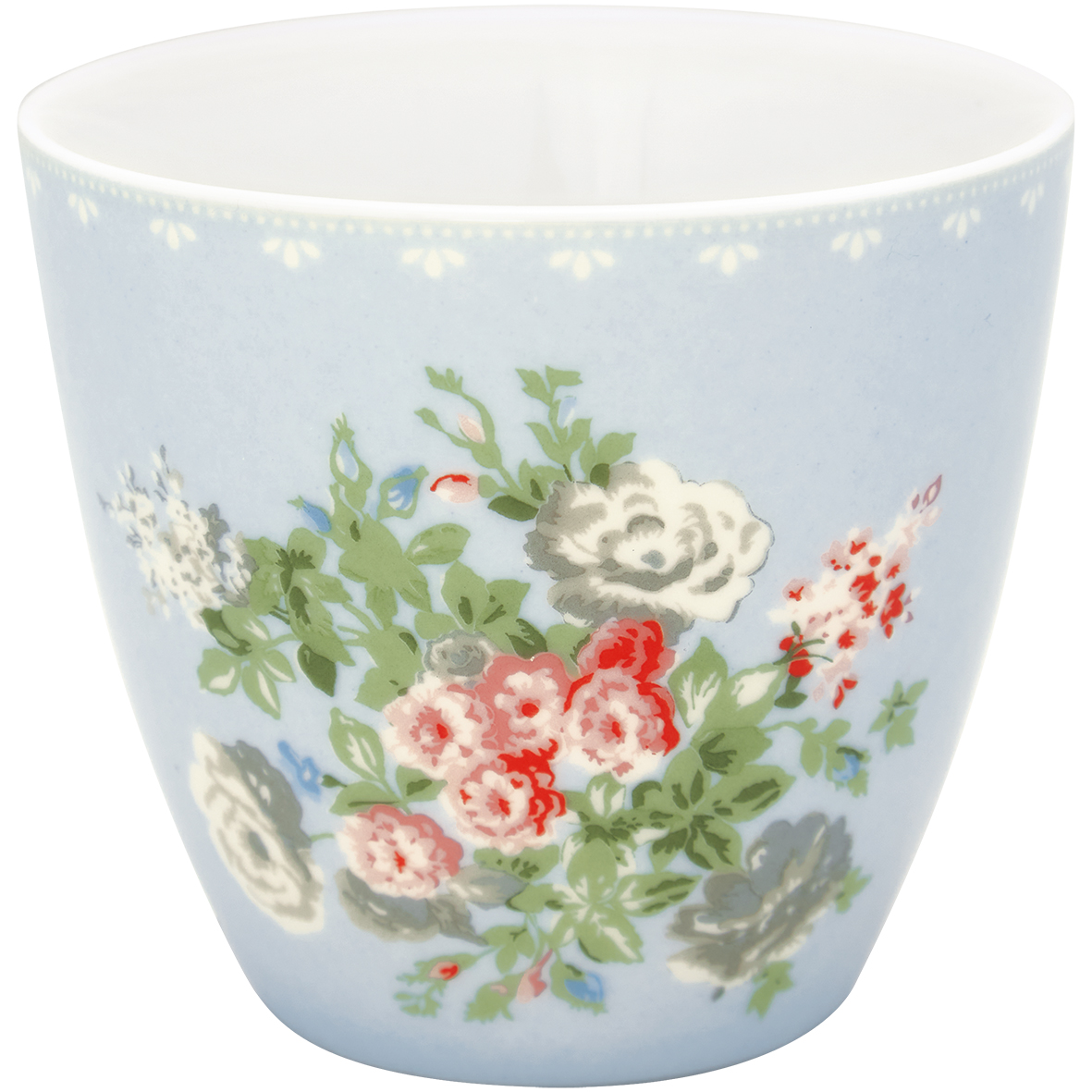 Latte Cup - Petricia pale blue - Greengate