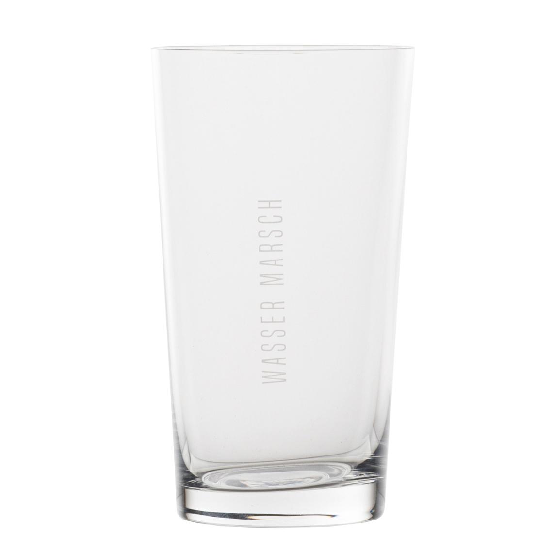"""Wasserglas - """"Wasser marsch"""" - räder"""