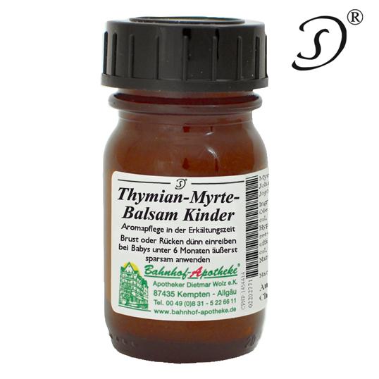 Thymian Myrte Balsam für Kind/Säugling - 30ml - Bahnhof-Apotheke