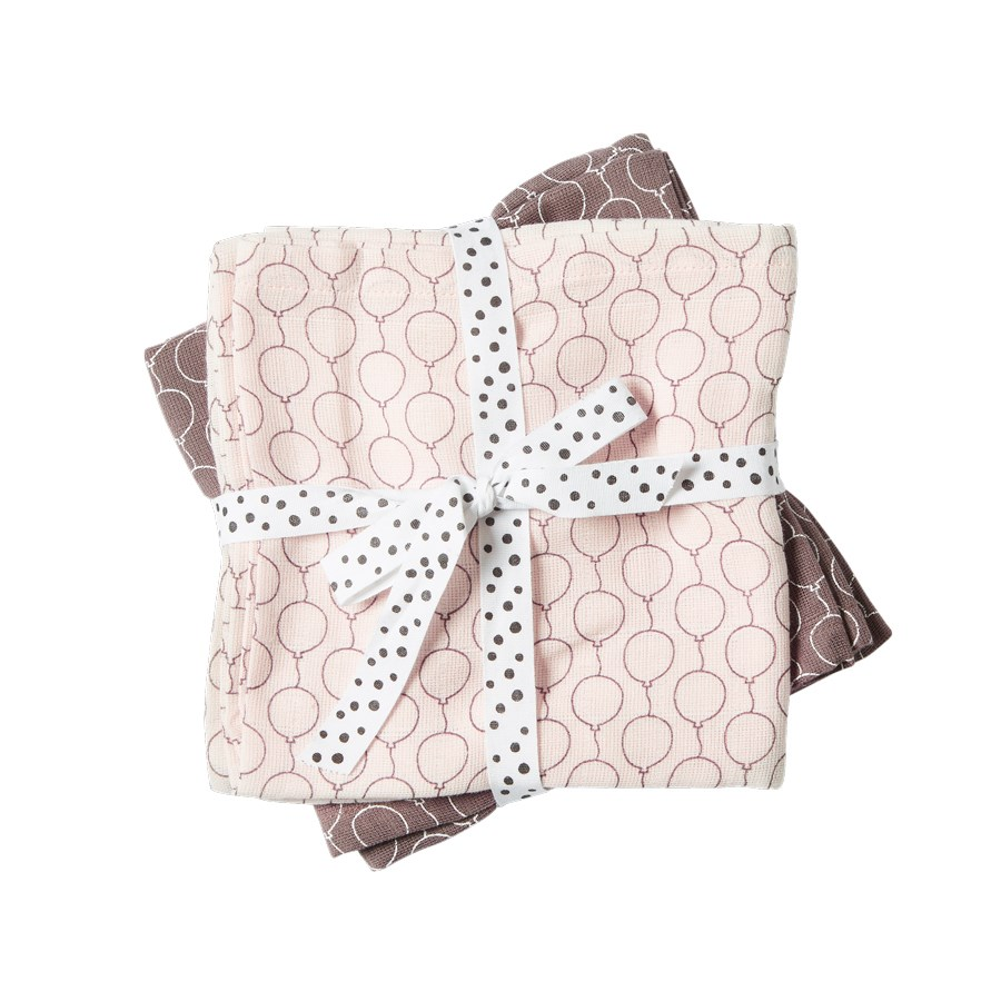 Pucktücher rosa - Swaddle - 2-pack - Balloon powder - Done by Deer