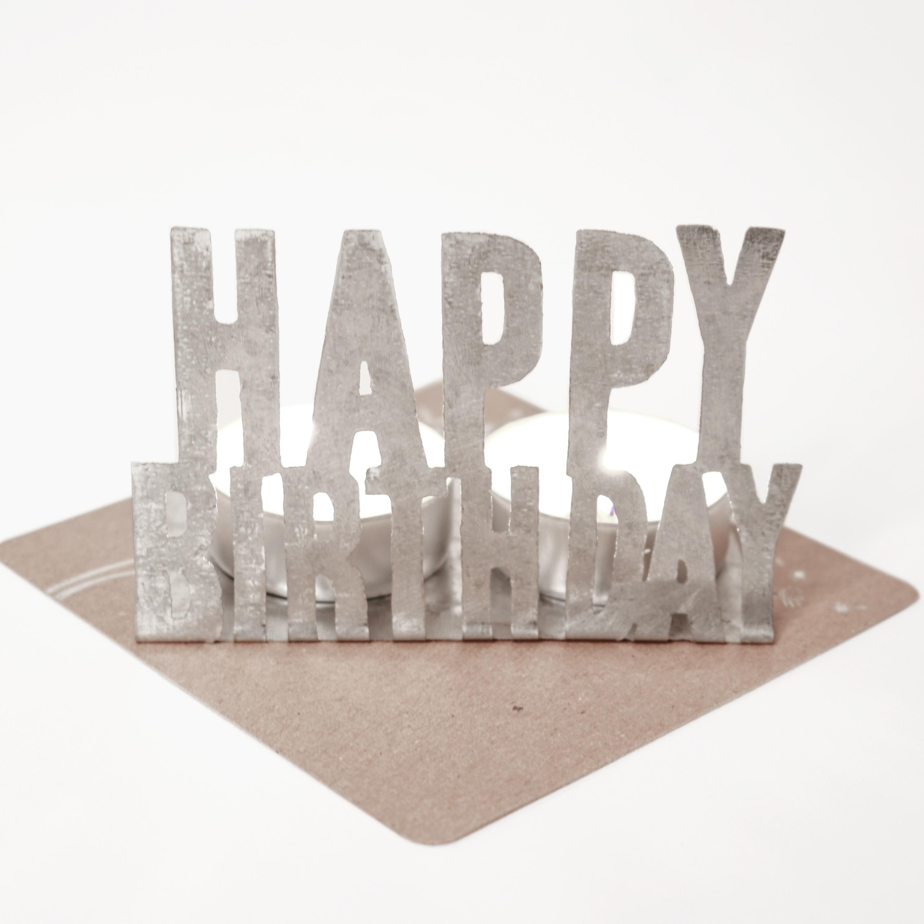 Kleine Lichtgrüße - Happy Birthday - Good old friends