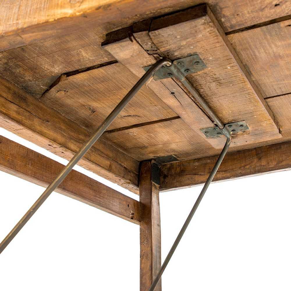 Esstisch im Vintagestil - natur - 180x40x76cm