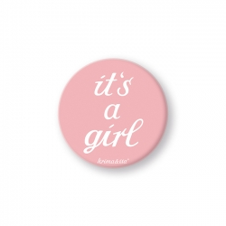 Button - it's a girl - krima&isa