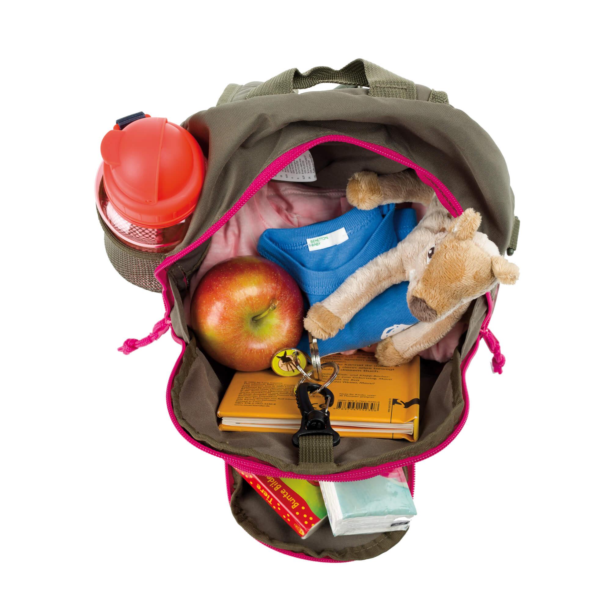 Kindergartenrucksack - Mushroom Magenta - Lässig