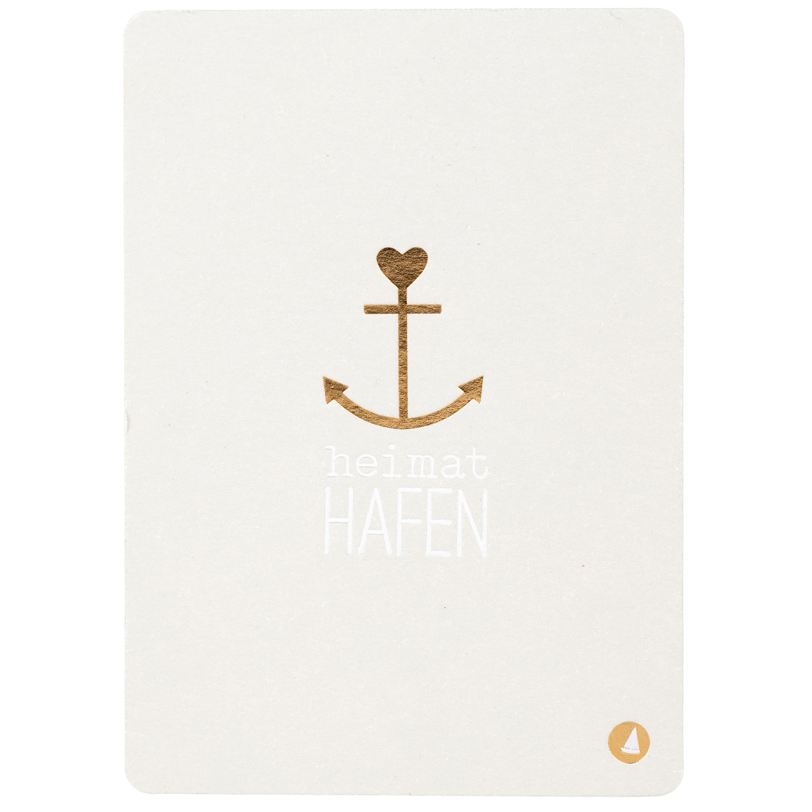 """Postkarte """"Heimathafen"""" - räder"""