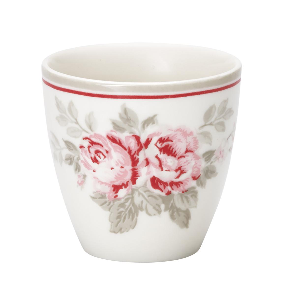Espressotasse | Mini-Latte Cup - Shirley  linen - Greengate