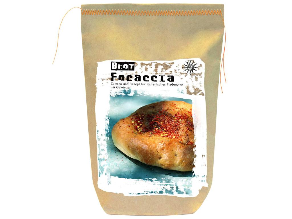Focaccia - Backmischung für italienisches Fladenbrot - Feuer & Glas