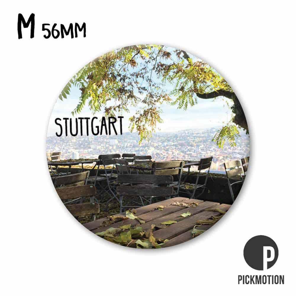 "Kühlschrank-Magnet - Medium - ""Stuttgart"" - MM 0297-DE - Pickmotion"