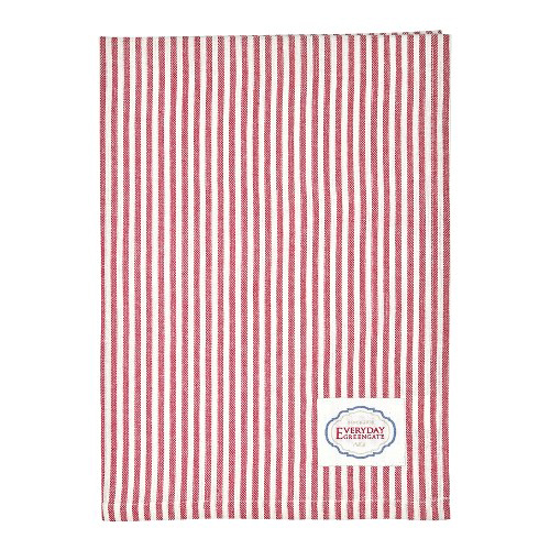 Geschirrtuch - Alice stripe red - Greengate