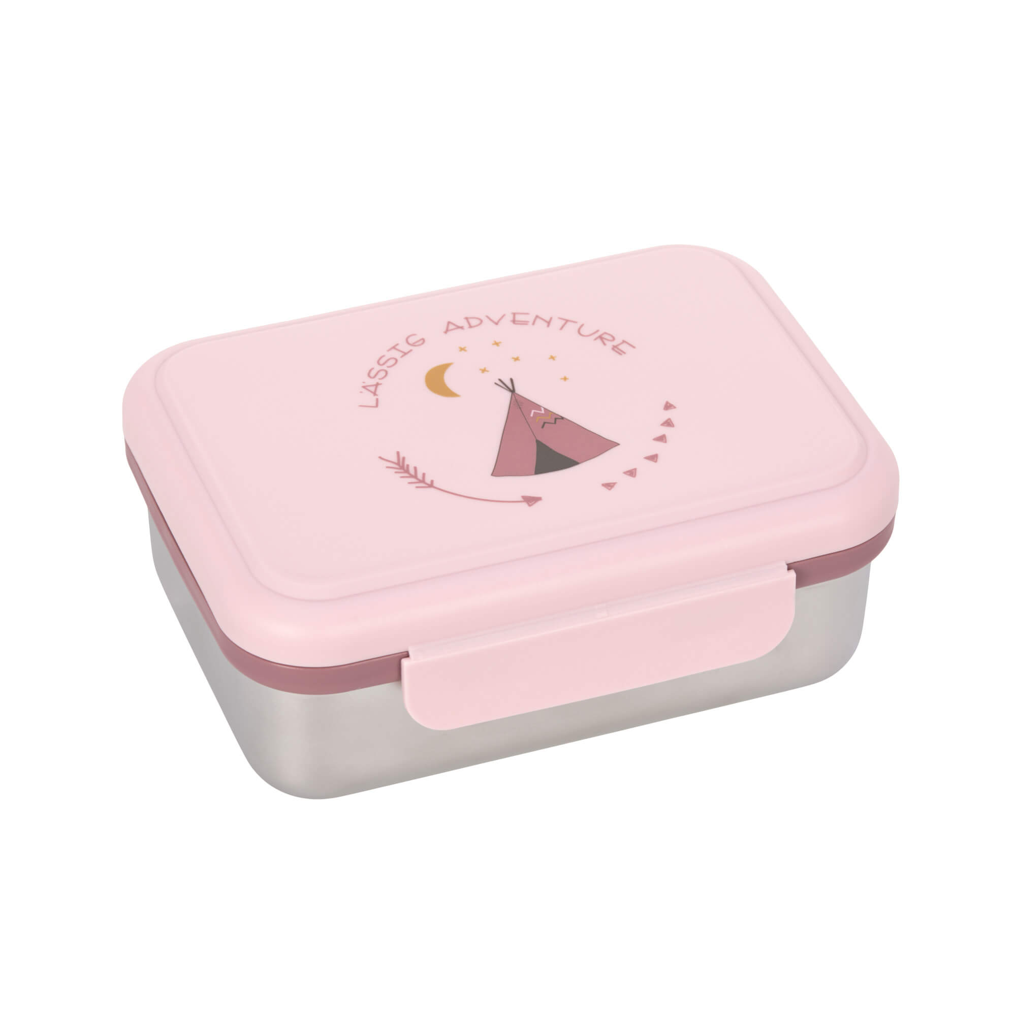 Lunchbox | Brotdose für Kinder - Edelstahl - Adventure Tipi - Lässig