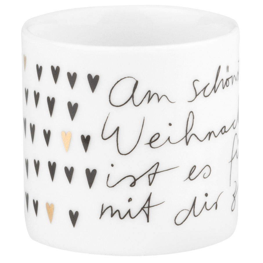 """Teelicht - Helle Freude """"Mit Dir zu zweit"""" - räder (Xmas)"""