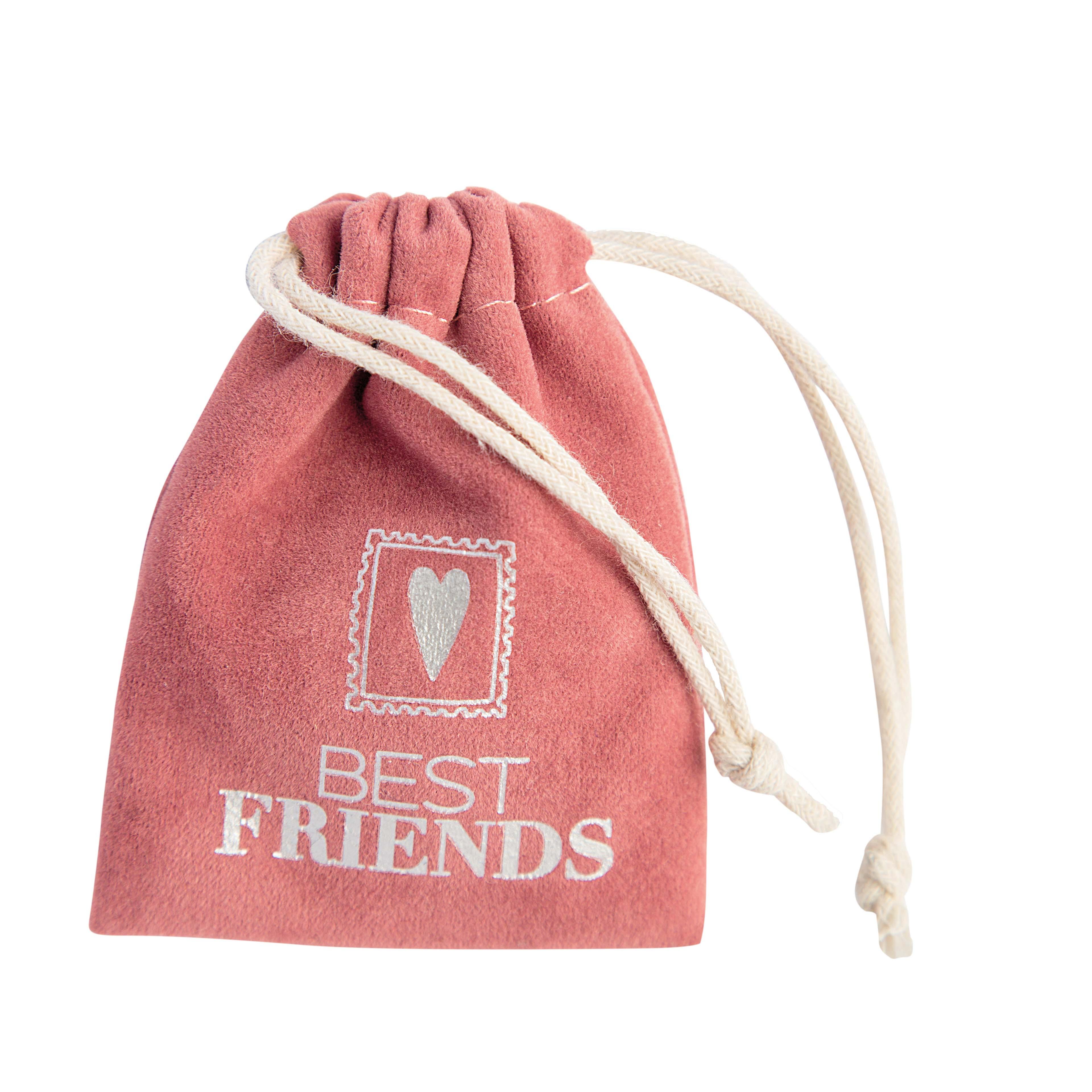 """Kleiner Glücksbringer """"Best Friends + Herz"""" - räder"""