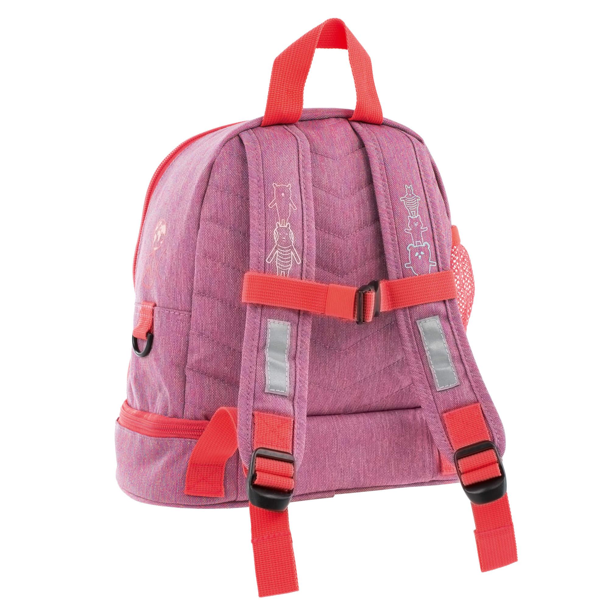 Kindergartenrucksack - About Friends Mélange Pink - Lässig