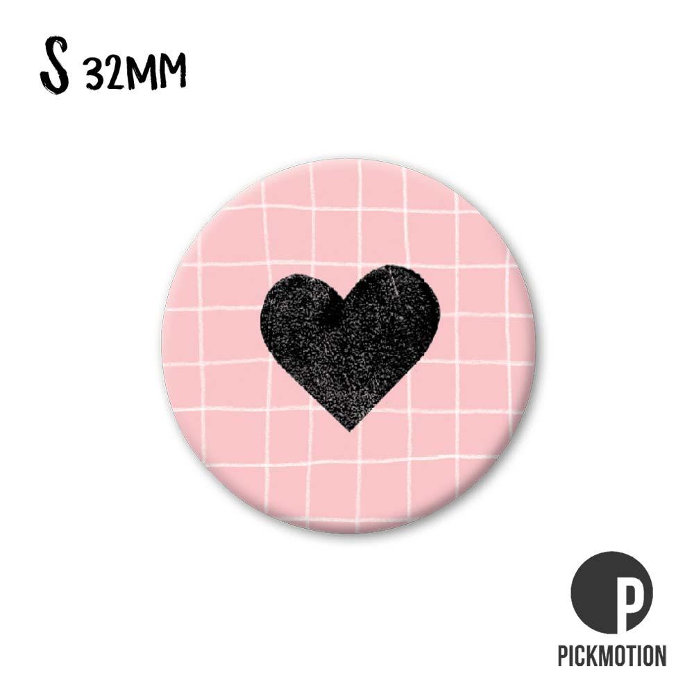 """Kühlschrank-Magnet - Klein - """"Herz"""" - MSA 0189 - Pickmotion"""