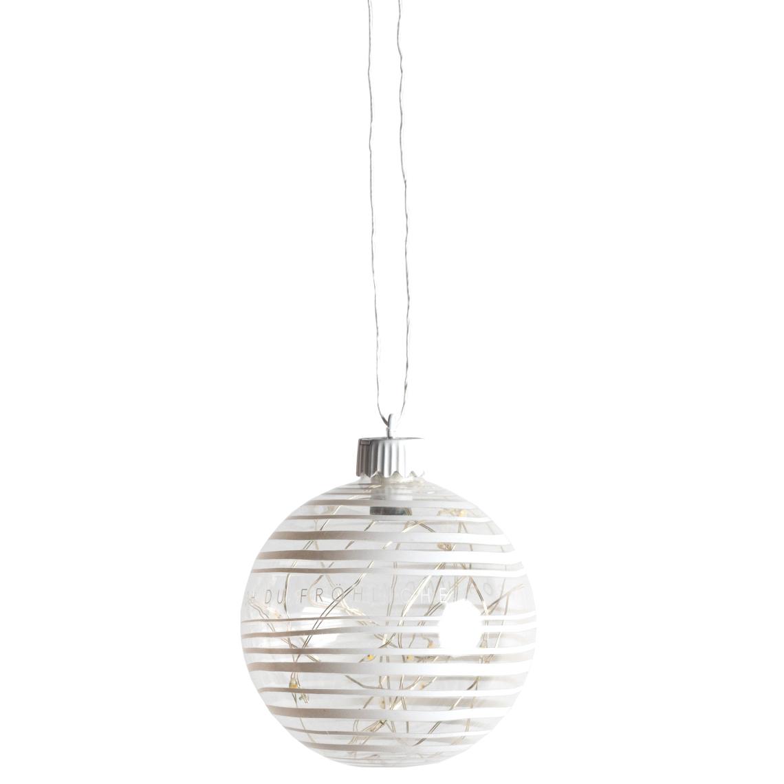 "Wunderkugel LED ""Streifen"" - räder (Xmas)"