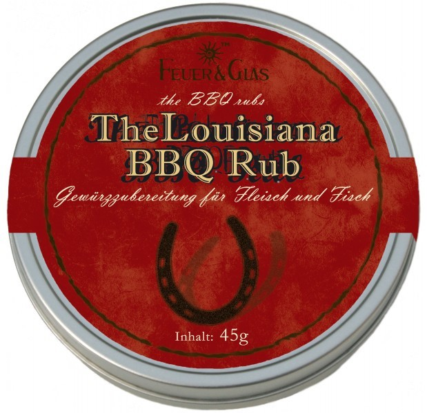 Gewürzzubereitung - The Louisiana BBQ Rub - Feuer & Glas