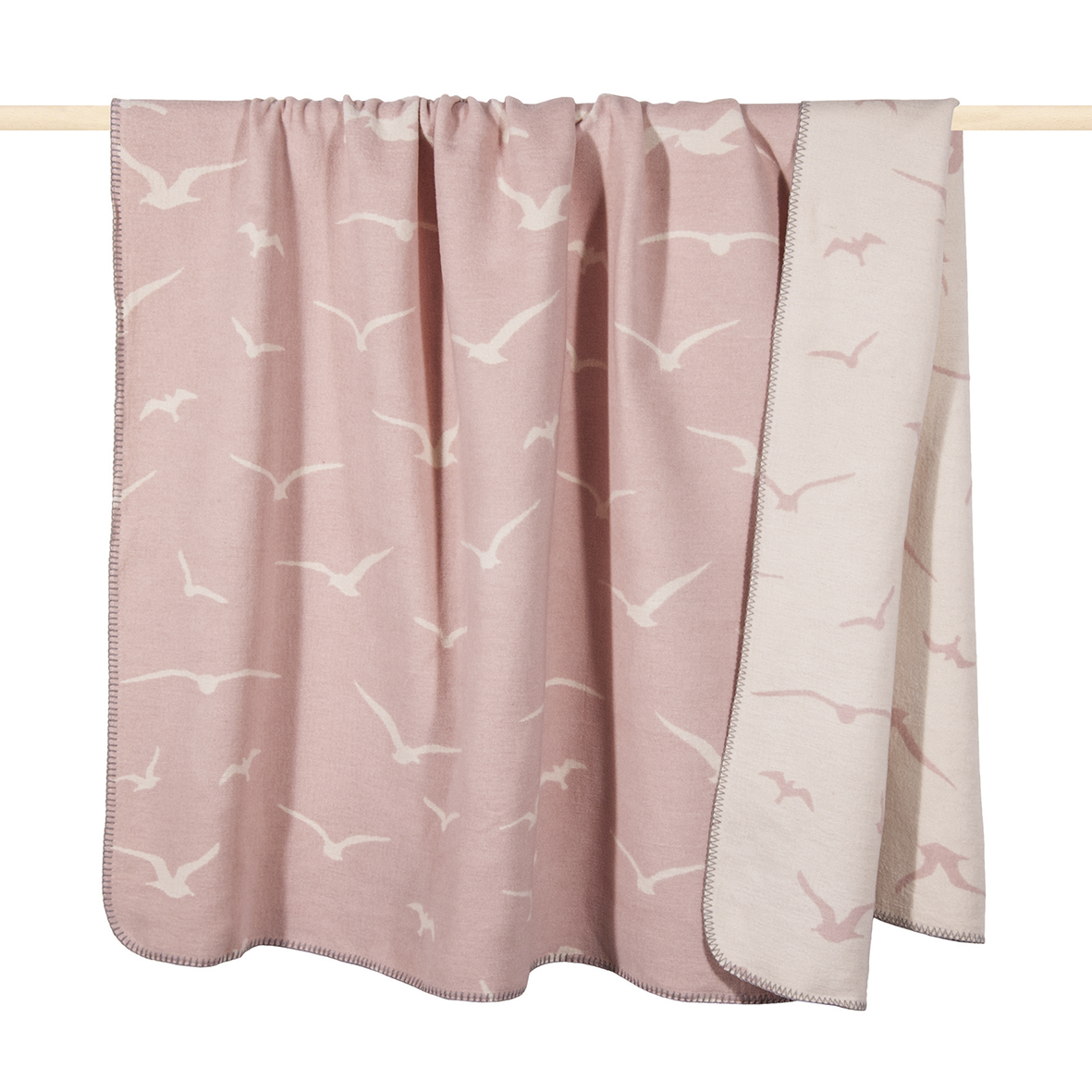 Decke - Seagull Dusty Pink 150x200 - PAD home design