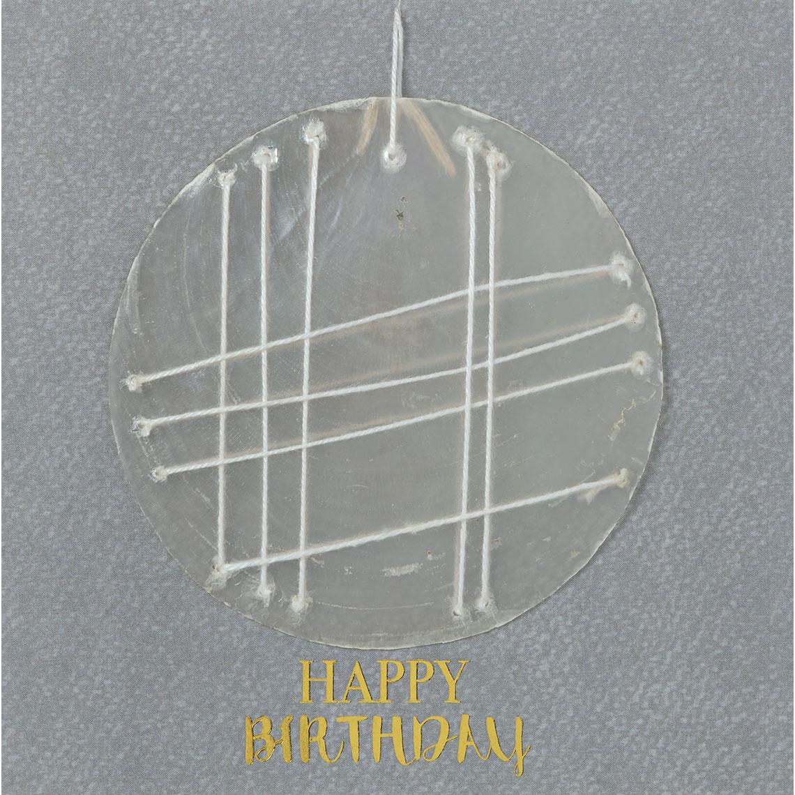 """Geburtstagskarte """"Happy Birthday"""" - räder"""