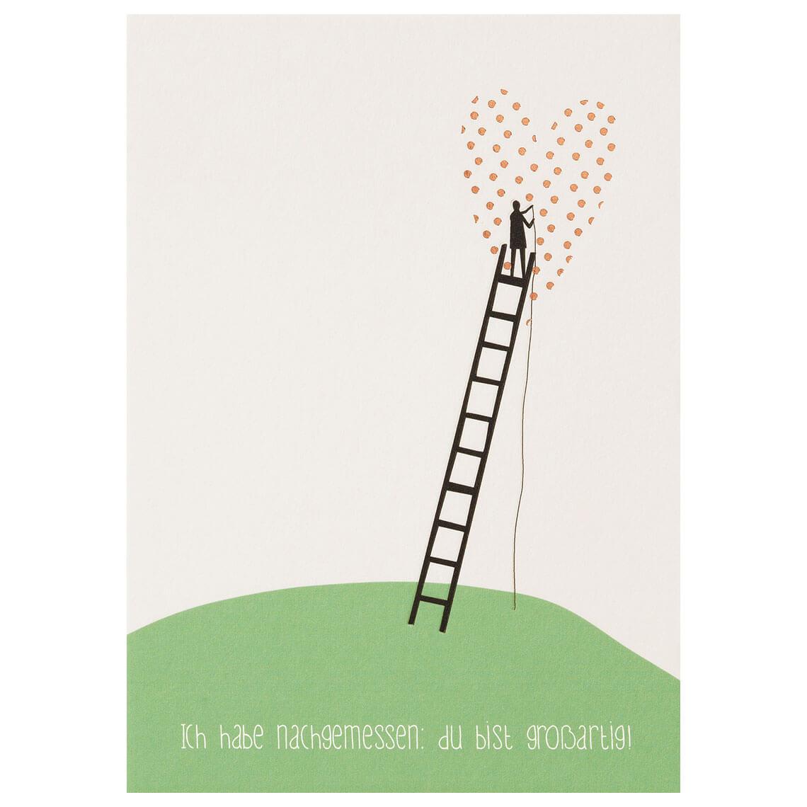 Postkarte - Lieblingsmensch Postkarte