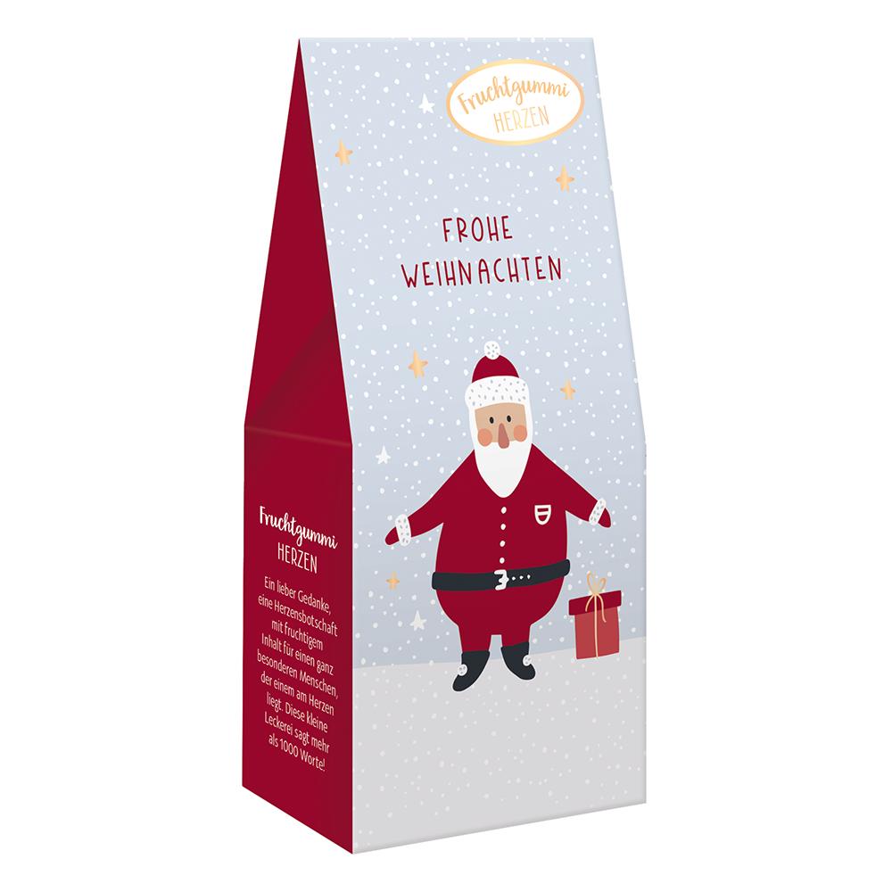 Fruchtgummi Herzen - Frohe Weihnachten- Grafik Werkstatt (Xmas)