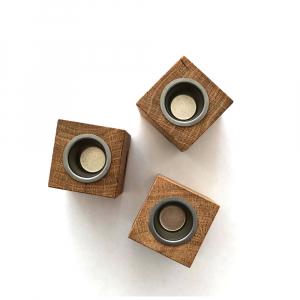 Holzkerzenständer - Wünschelicht
