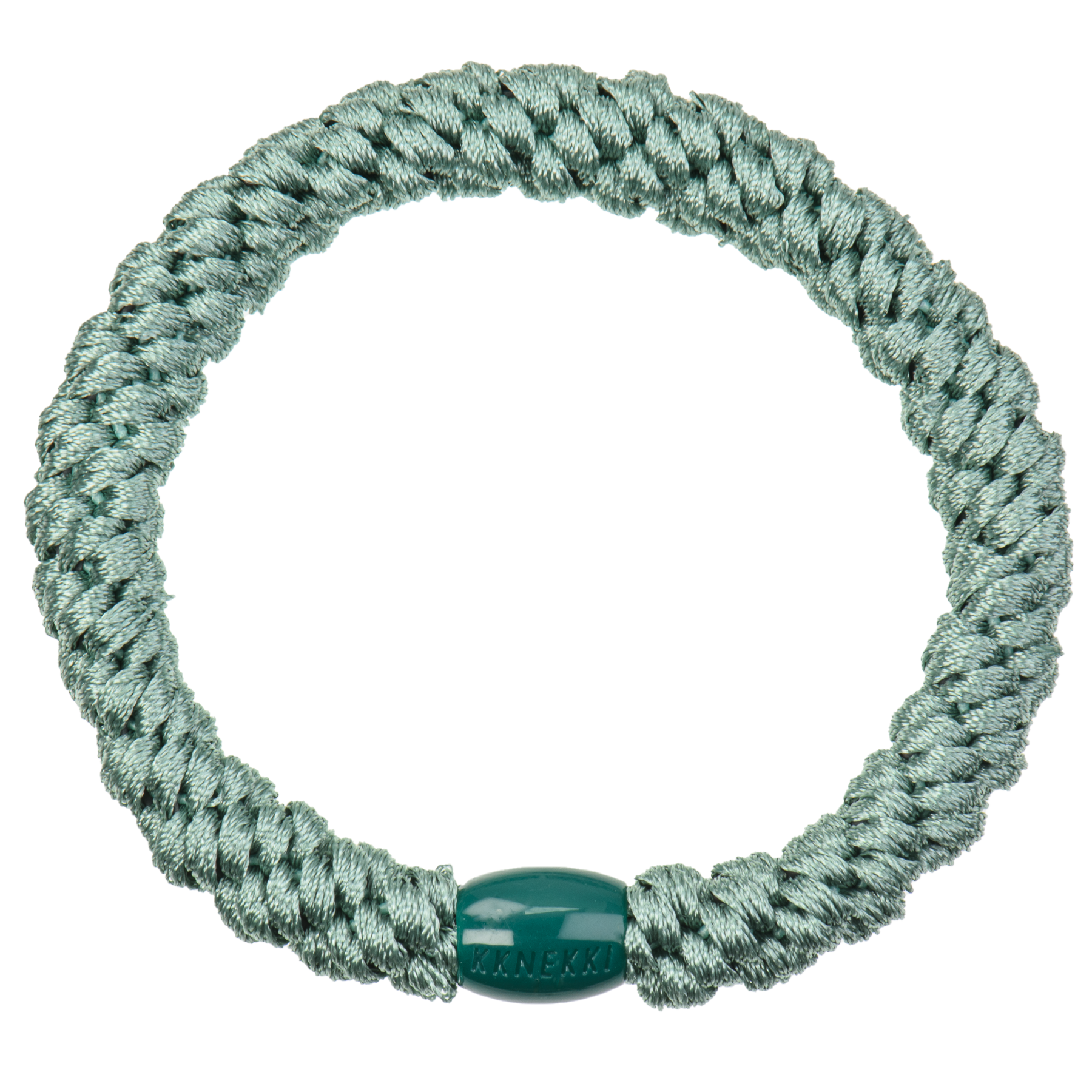 Haargummi / Armband - Faded green 5152 - KKNEKKI
