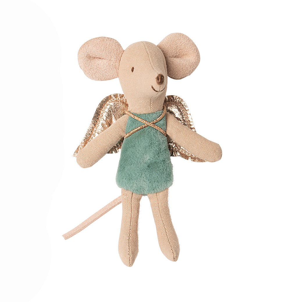 Maus Klein - grün - Fairy Mouse little - Maileg