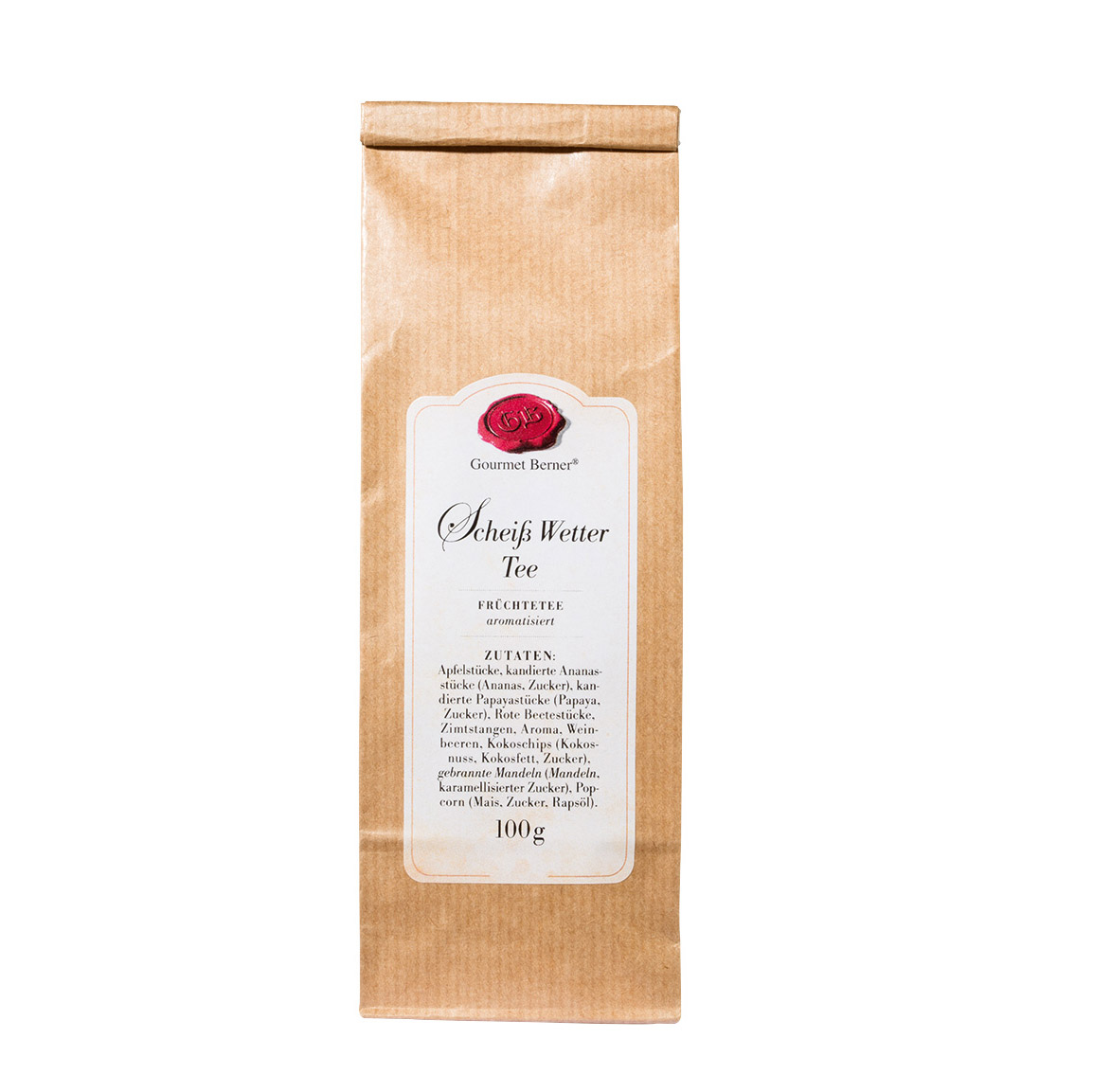 Scheiß Wetter Tee- Früchtetee im 100g Beutel - Gourmet Berner