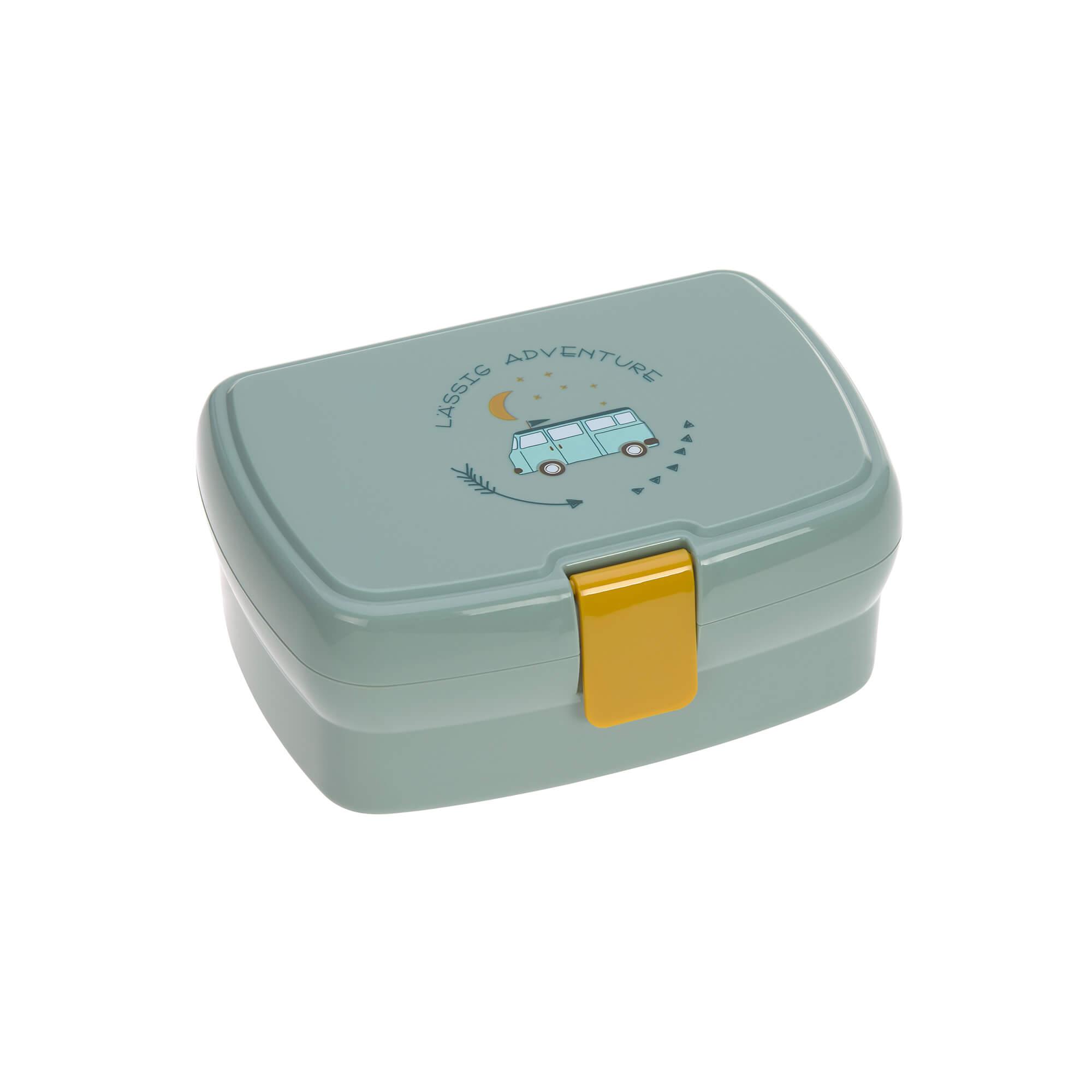 Kinder Brotdose - Lunchbox -  Adventure Bus - Lässig