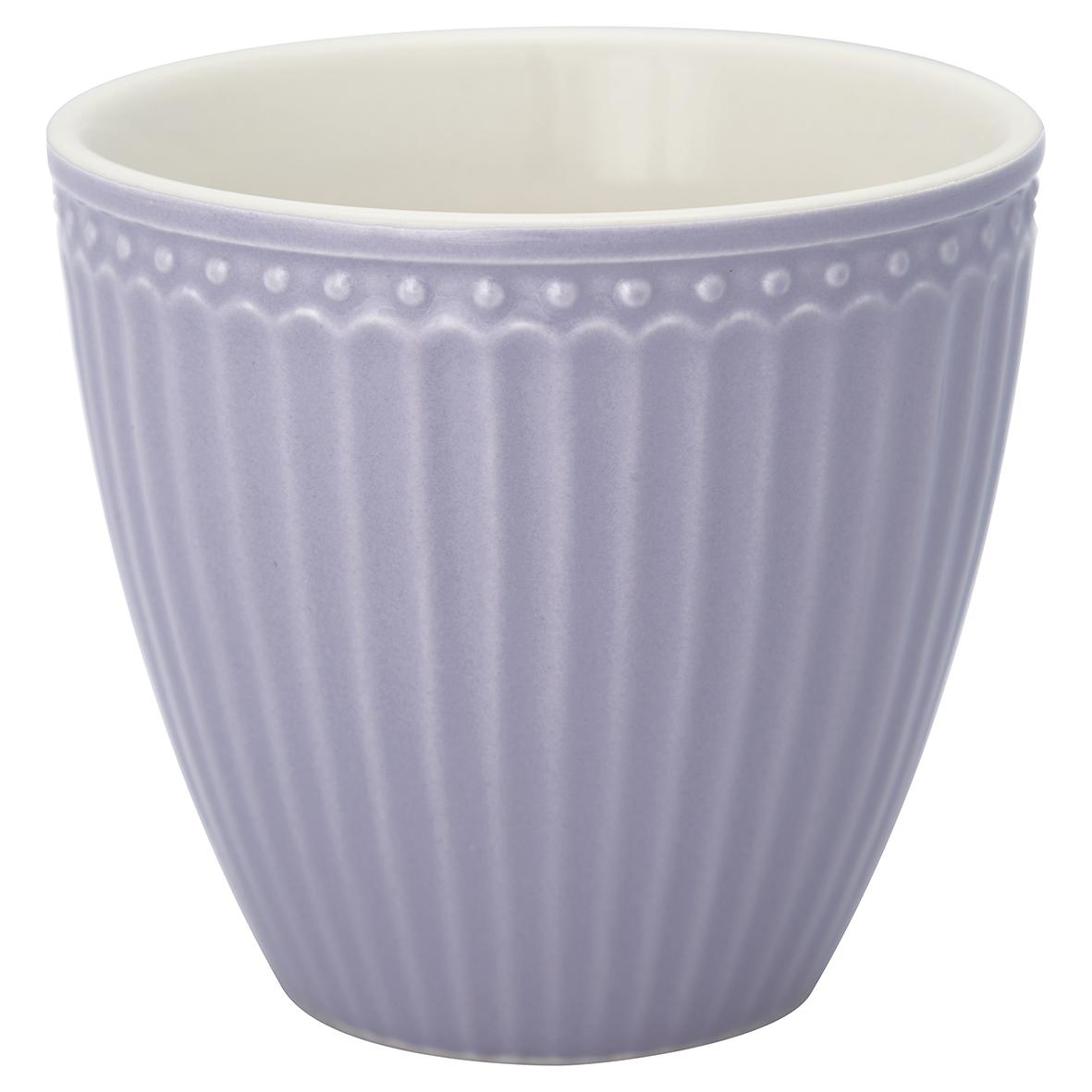 Latte Cup - Alice lavender - Greengate