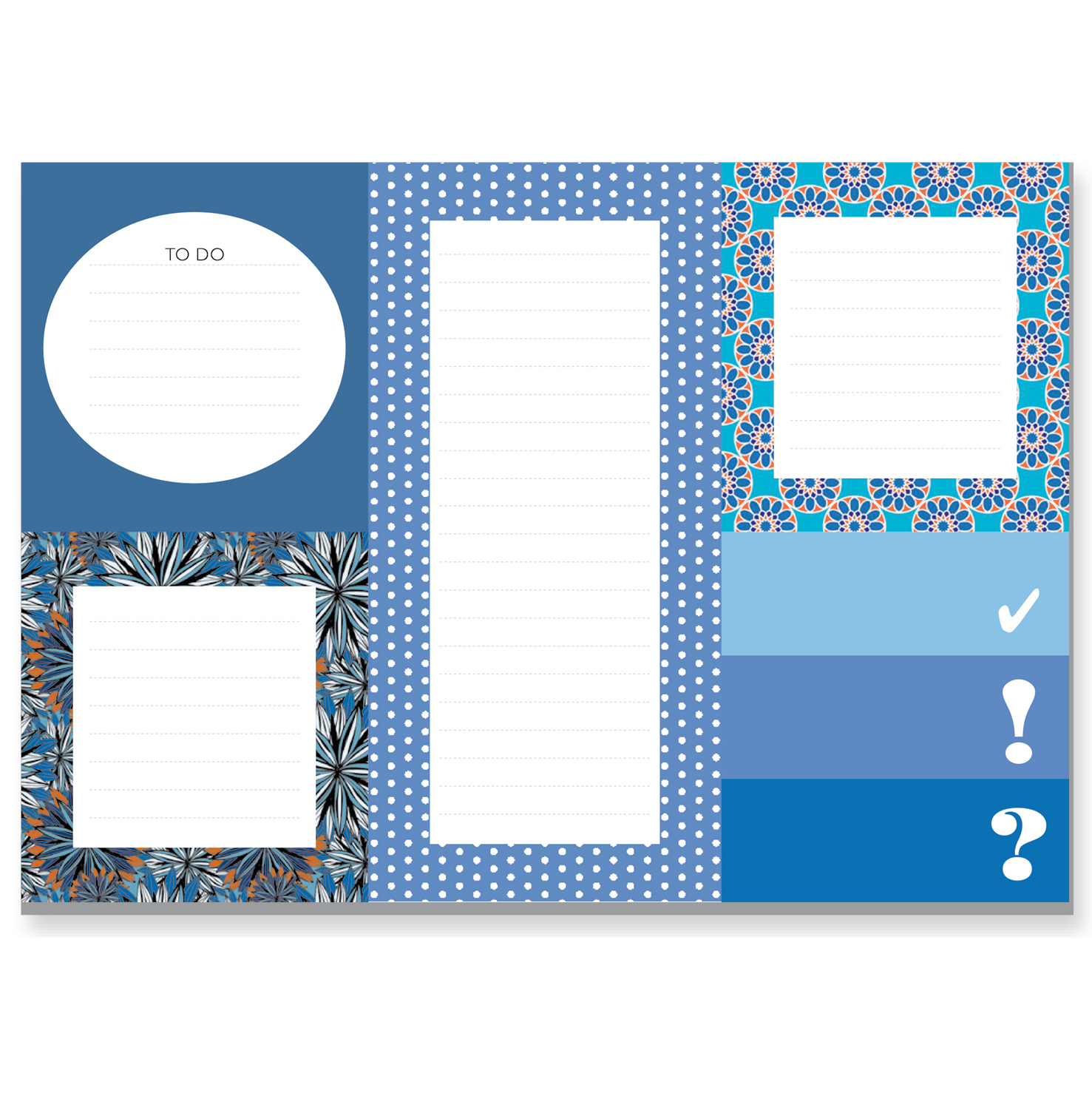 Sticky Notes - blau - CEDON