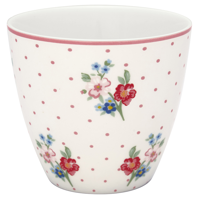 Latte Cup - Eja white - Greengate
