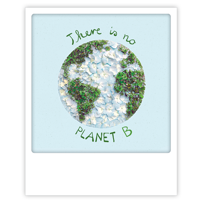 "Photo-Postkarte ""There is no planet"" - ZG 0901 - DE - Pickmotion"