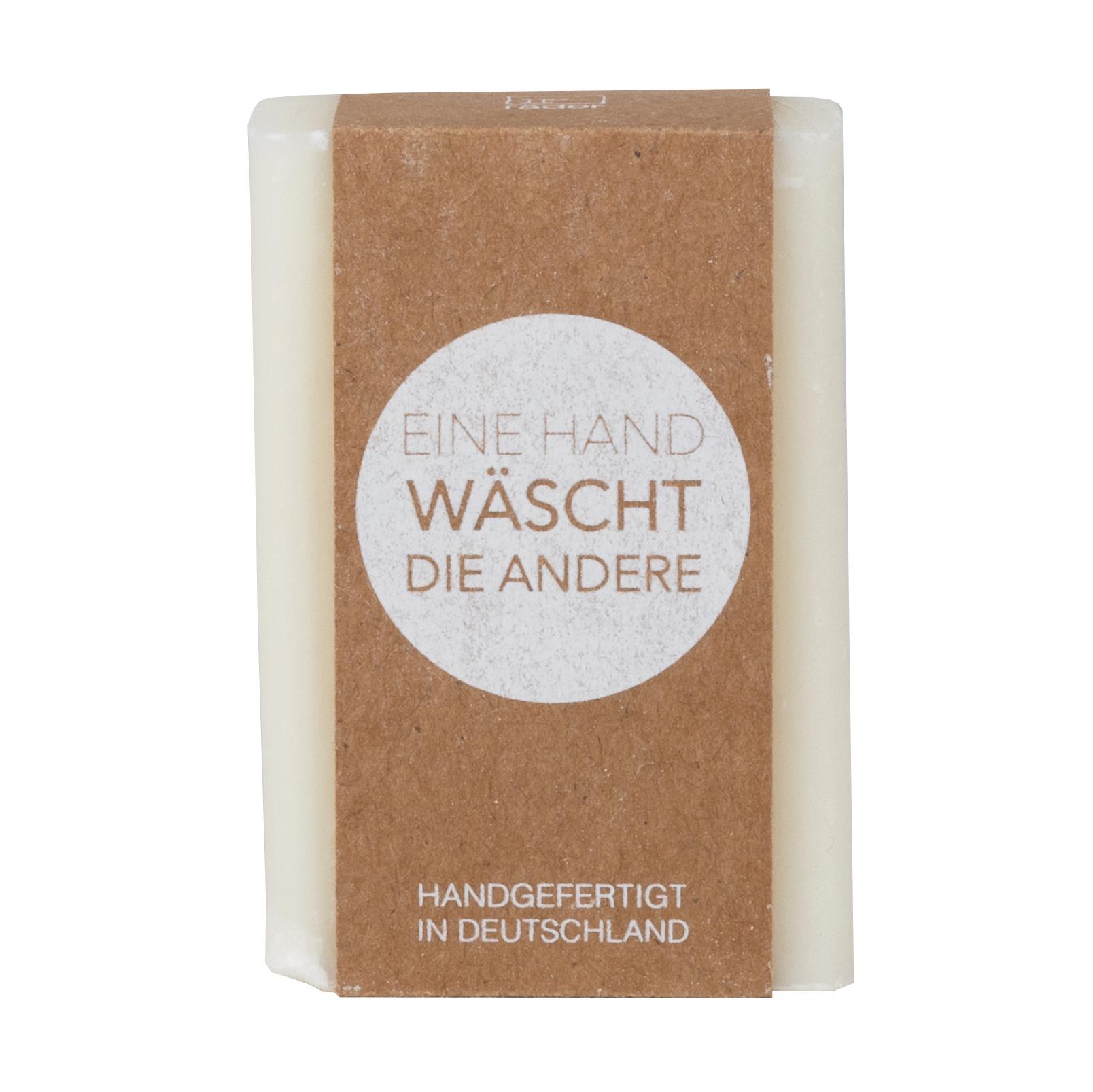 """Handseife """"Eine Hand wäscht die andere"""" - Orange Lemon - räder"""