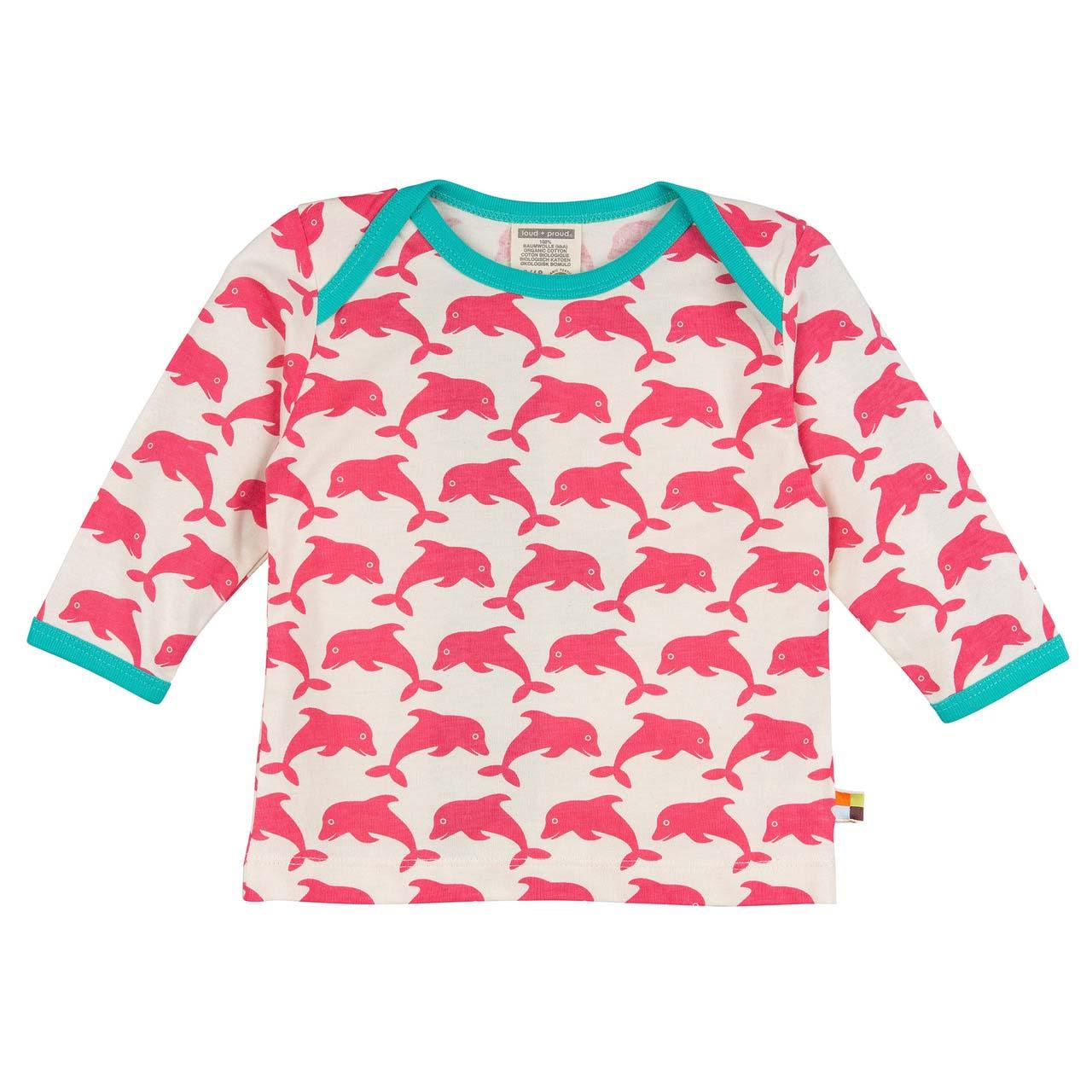 Langarm-Shirt - Coral - Loud+Proud