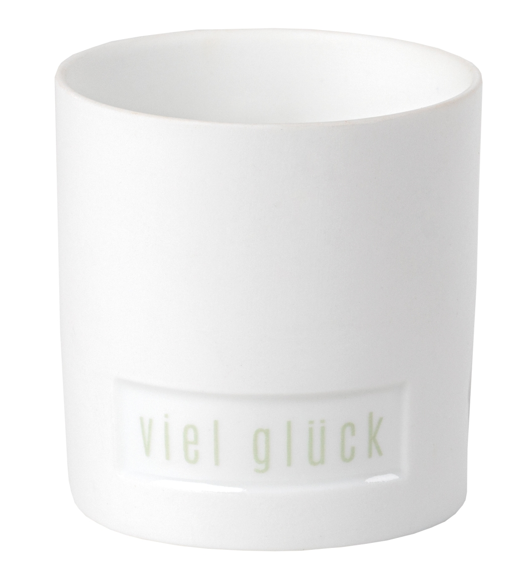 """GIVING Blumengruß Lichtlein """"Viel Glück"""" - räder"""