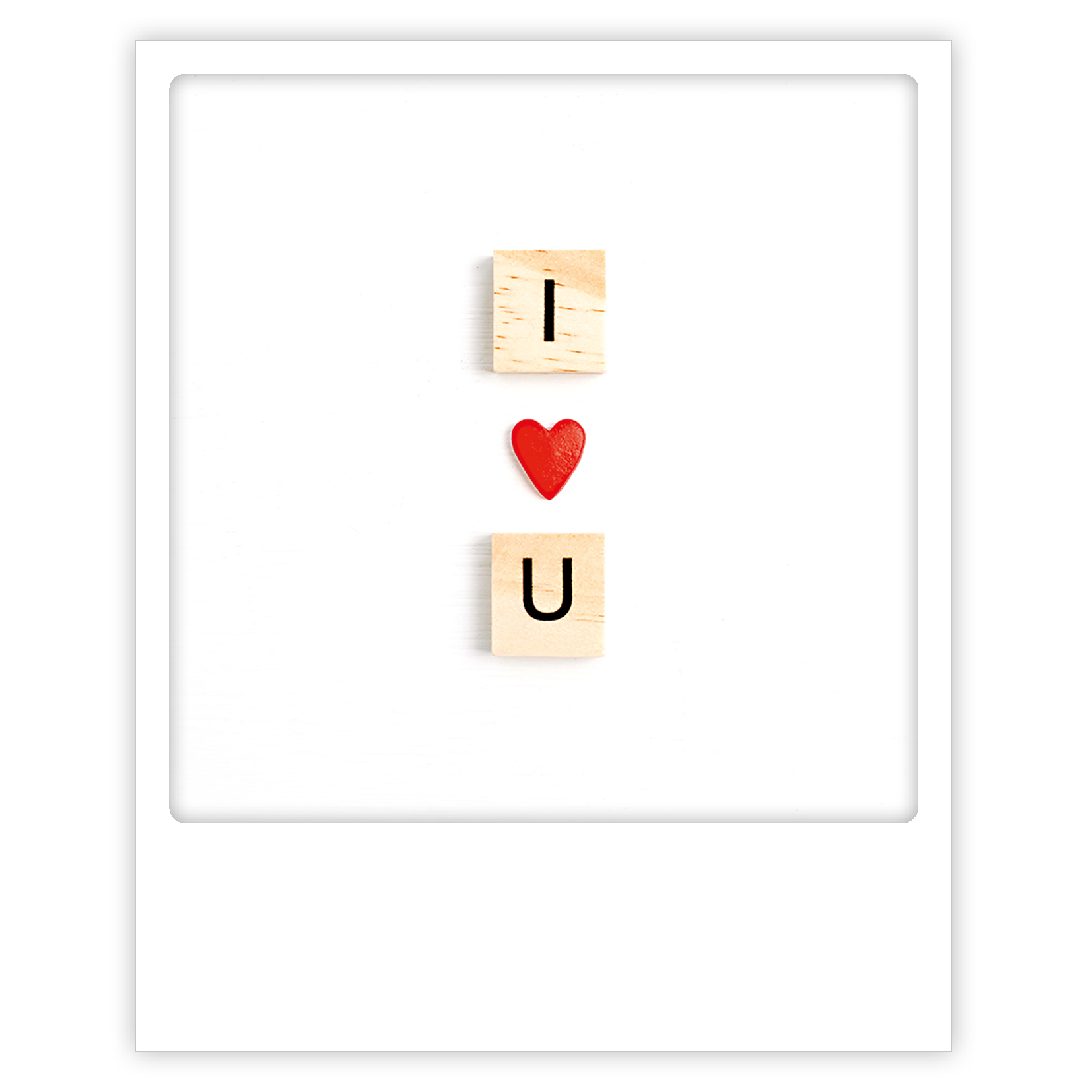 "Photo-Postkarte ""I Love You"" - ZG 0807 - EN - Pickmotion"