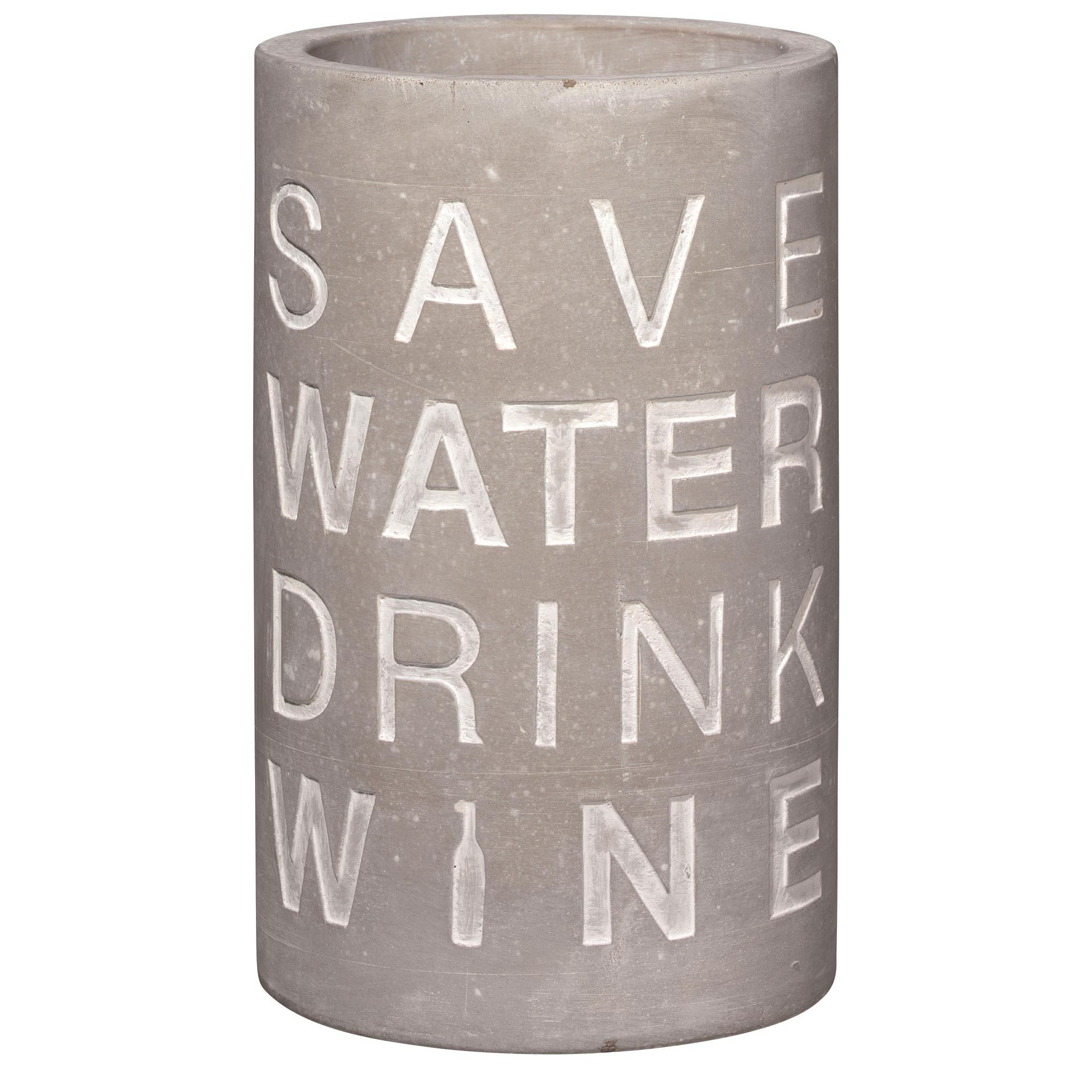 """Weinkühler """"Save water"""" - räder"""