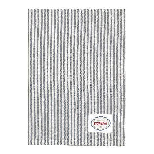 Geschirrtuch - Alice stripe grey - Greengate