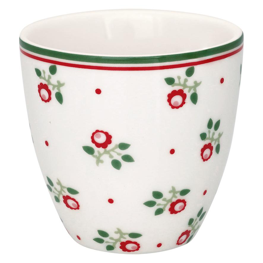 Espressotasse | Mini-Latte Cup - Abi petit white - Greengate