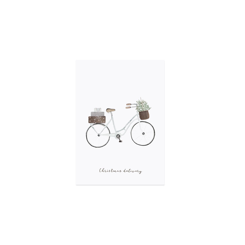 Postkarte - Geschenke Fahrrad - Eulenschnitt