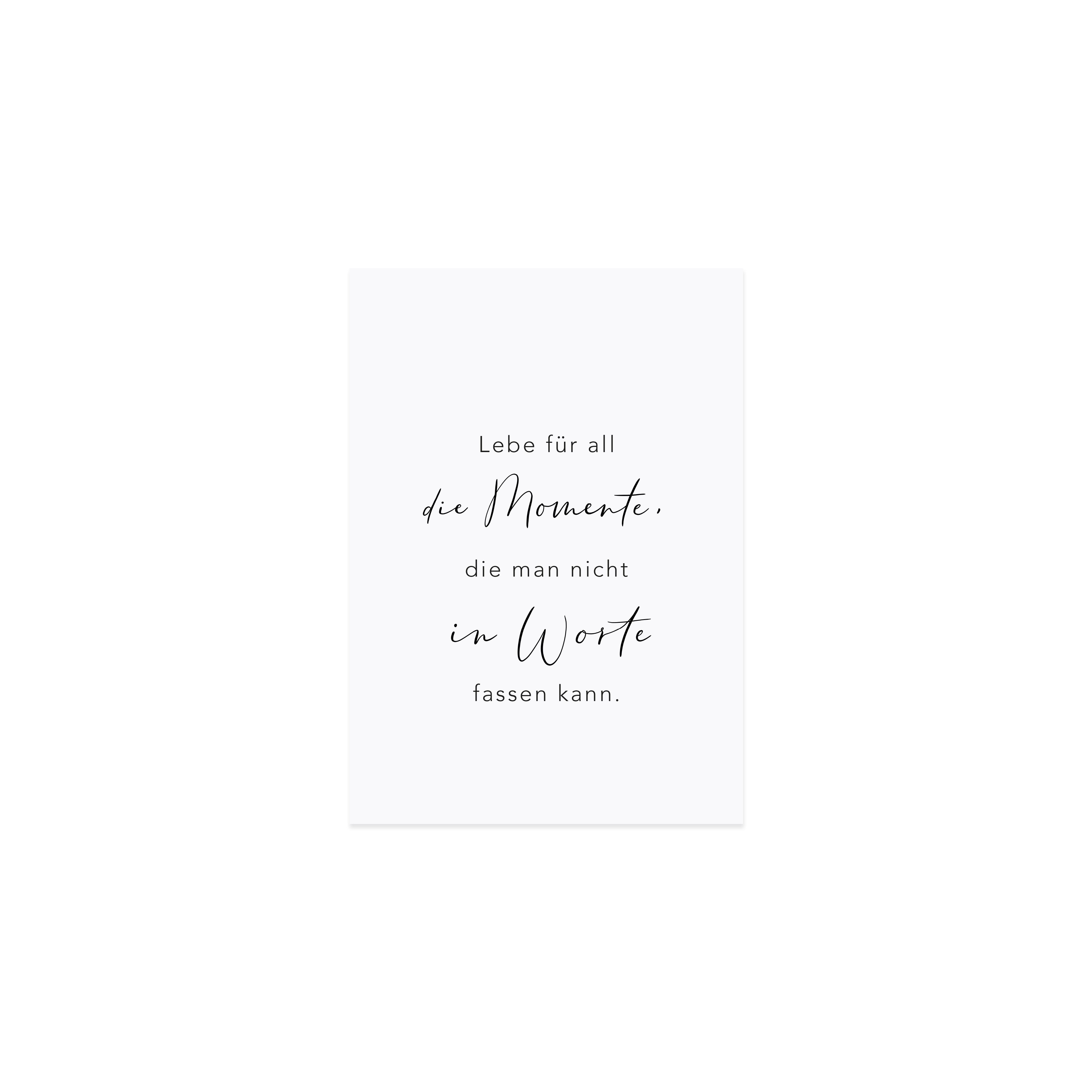 Postkarte - Momente - Eulenschnitt