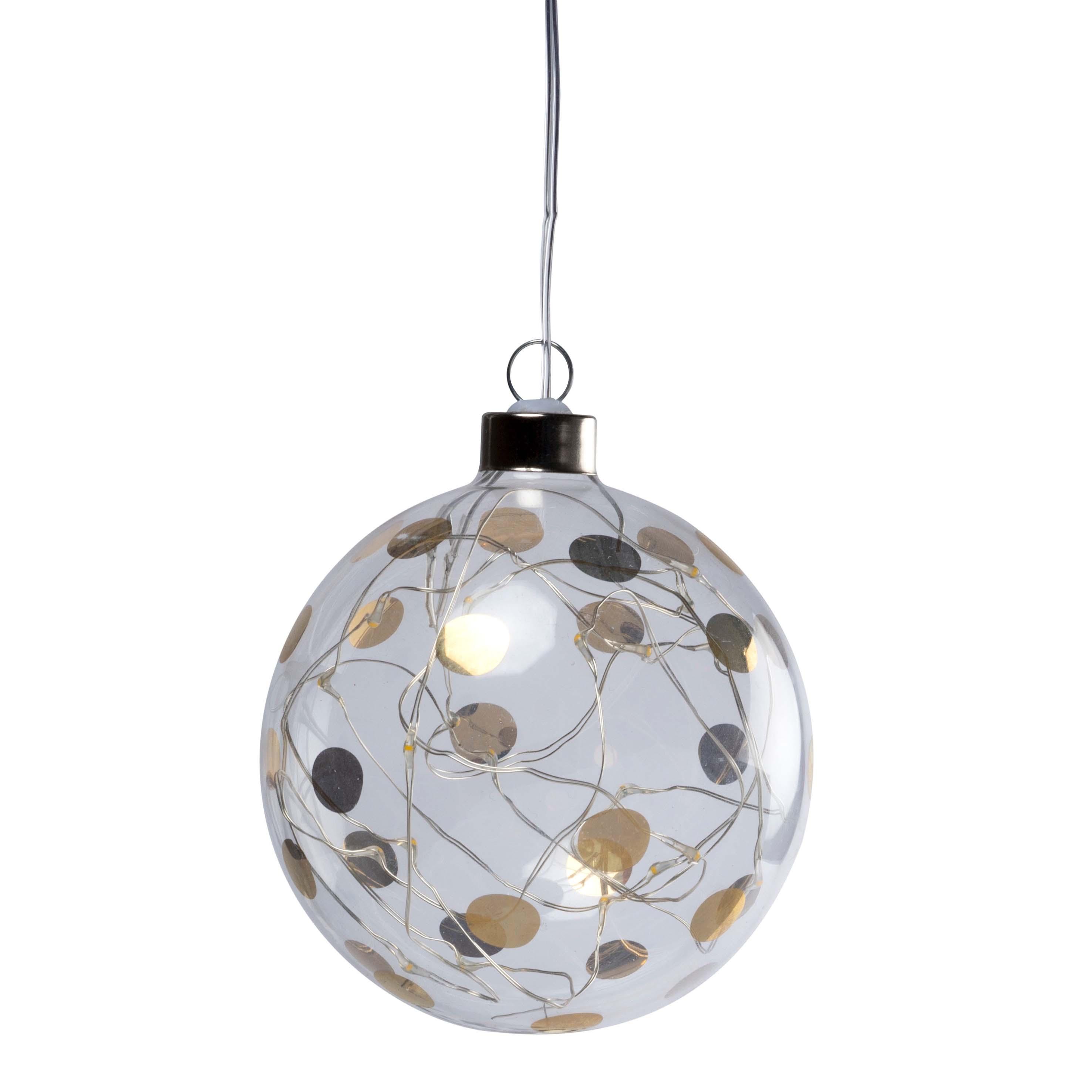 """Lichtkugel LED """"klein, Punkte"""" - räder (Xmas)"""