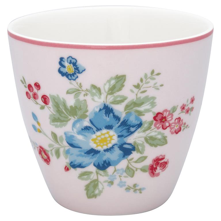 Latte Cup - Roberta pale pink - Greengate