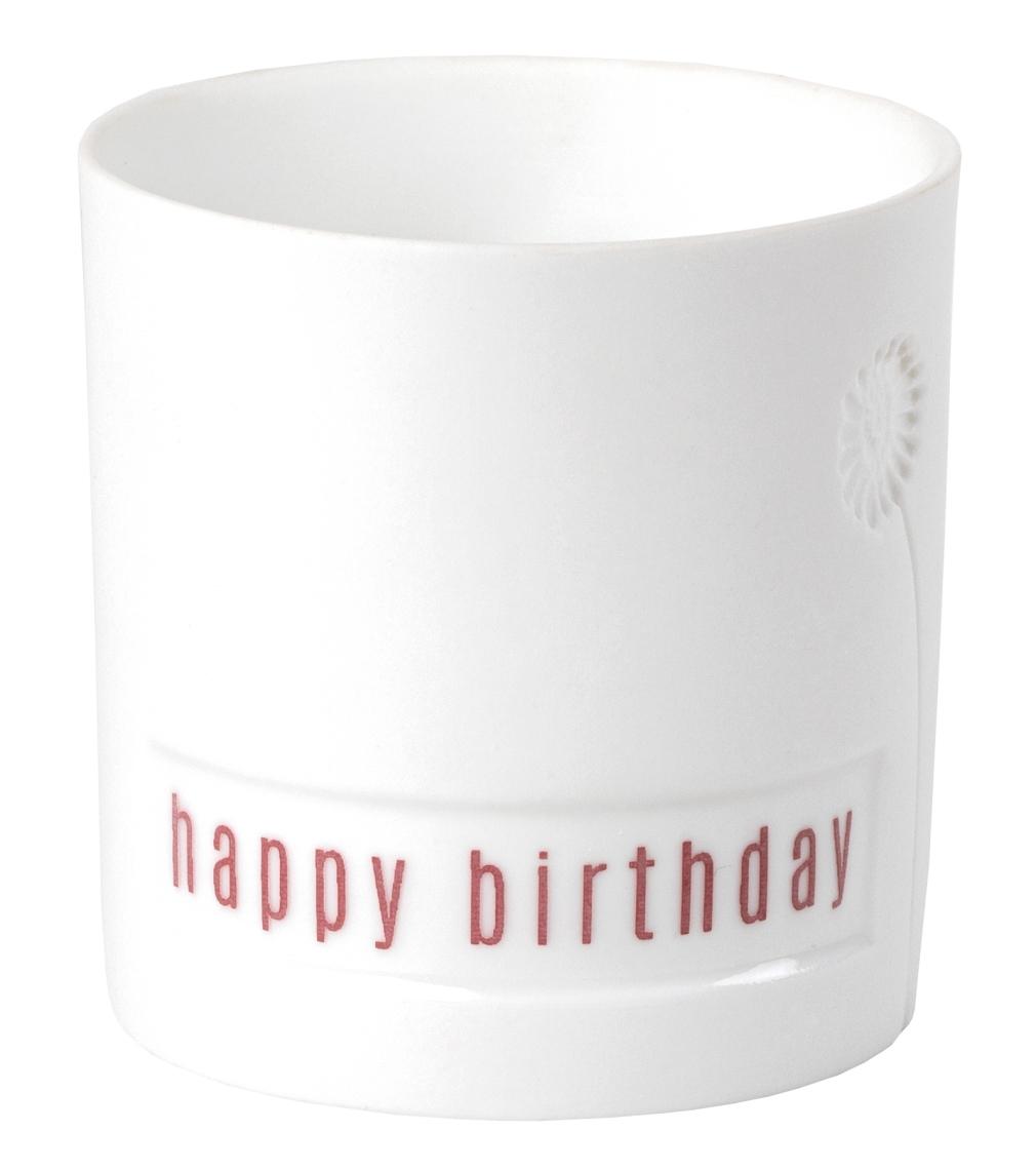 """GIVING Blumengruß Lichtlein """"Happy Birthday"""" - räder"""