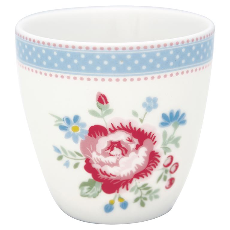 Espressotasse | Mini-Latte Cup - Evie white - Greengate